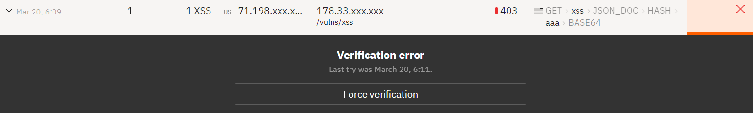 !Attacks verification